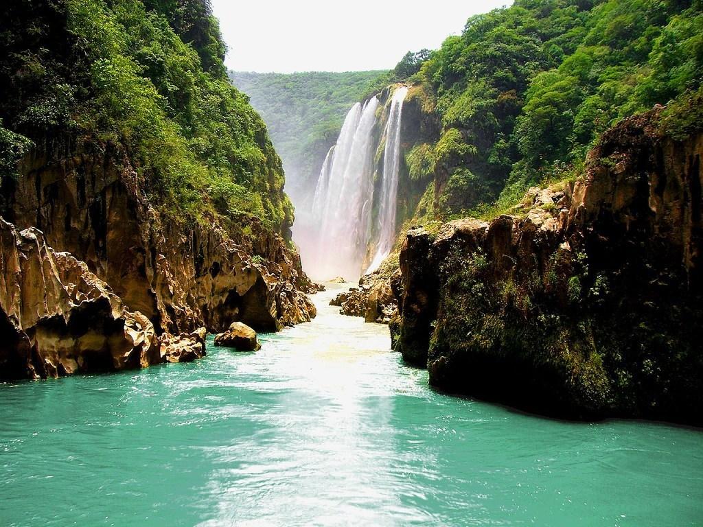 La Cascada De Tamul La Gran Joya De La Huasteca Potosina Bienvenidos A Magazine La Revista De Calidad De Vida De Argentina